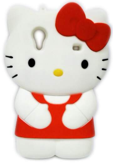 Capinha para Samsung Galaxy Ace Hello Kitty 3D