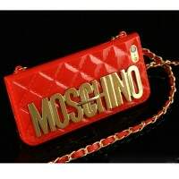Capa Luxo Estilo Bag Moschino para iPhone 6