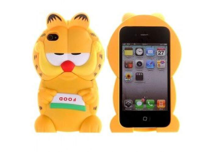 Capa Garfield 3D para iPhone 4/4S