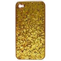 Case para iPhone 4/4S Glitter Dourada