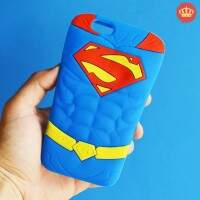 Capinha para iPhone 5/5S/5c/6/6S/6 Plus Superman 3D