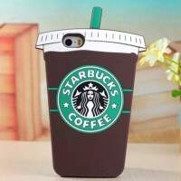 Capinha iPhone 5/5s/5c/Se Copo Coffee 3D