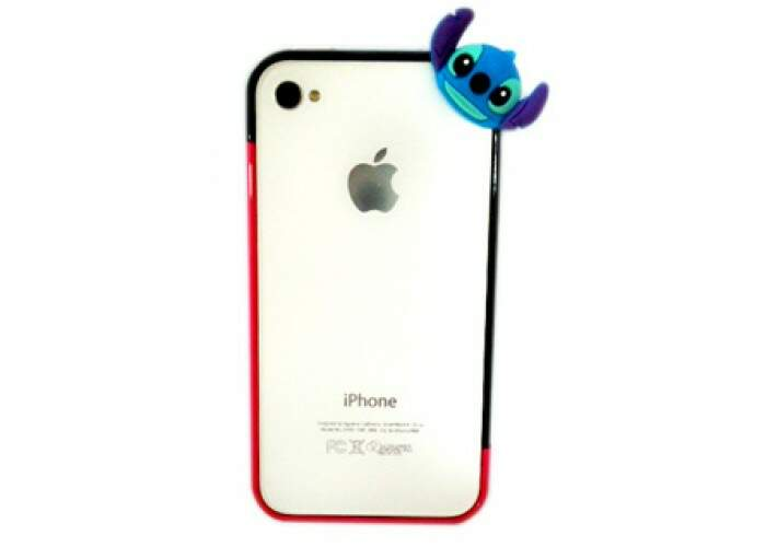 Bumper Stitch Lateral para iPhone 4/4S