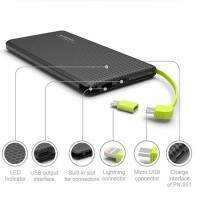 Carregador Portátil Power Bank Pineng Slim 5.000mAh