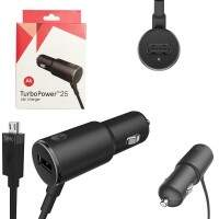 Carregador Turbo Power 25W Preto MicroUSB-USB