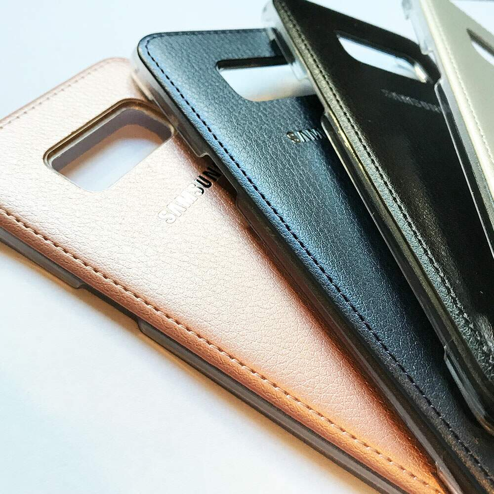 Capa Leather Couro Samsung Galaxy S8 Plus Colorida