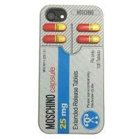 Capinha Remédio Pills iPhone 7 Estilo Moschino
