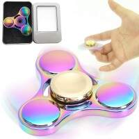 Fidget Hand Spinner Metal Multi Colorido