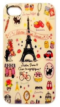 Capinha para iPhone 4/4S Paris