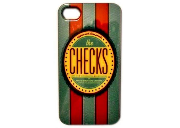 Capa para iPhone 4/4S The Checks
