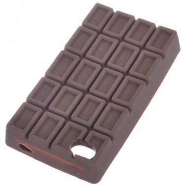 Capa Chocolate 3D para iPhone 4/4S/5/5S