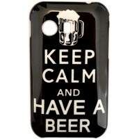 Capinha para Samsung Galaxy Y Keep Calm Beer