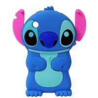 Capa Stitch 3D Disney Silicone para iPhone 3G