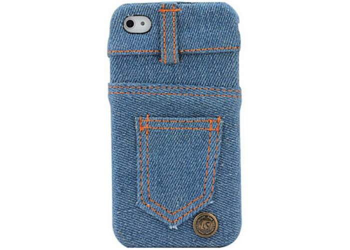 Capa para iPhone 4/4S Jeans