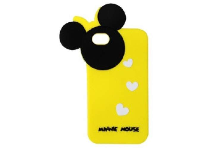 Capinha para iPhone 4/4S Minnie Lateral
