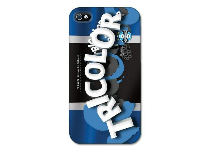 Capinha Gremio Tricolor Time - iPhone 4 e 4S