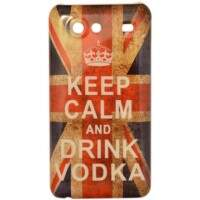 Capa para Samsung Galaxy S2 Lite Keep Calm Vodka