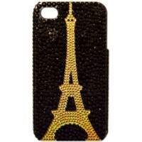 Capa para iPhone 4/4S Paris Perolada
