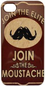 Capa para iPhone 4/4S Join Moustache