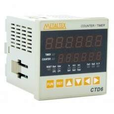 Contador / Temporizador Digital - CTD6 - Metaltex