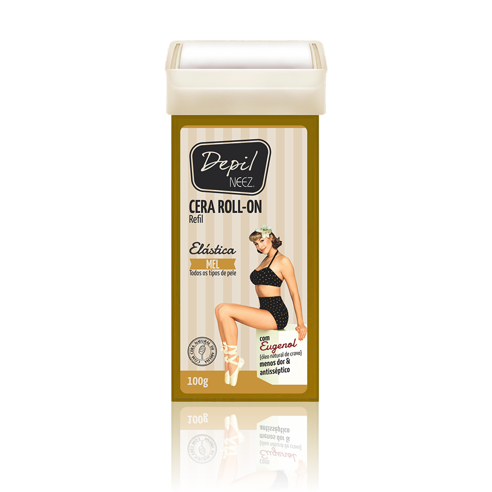 Refil Roll On Mel 100g