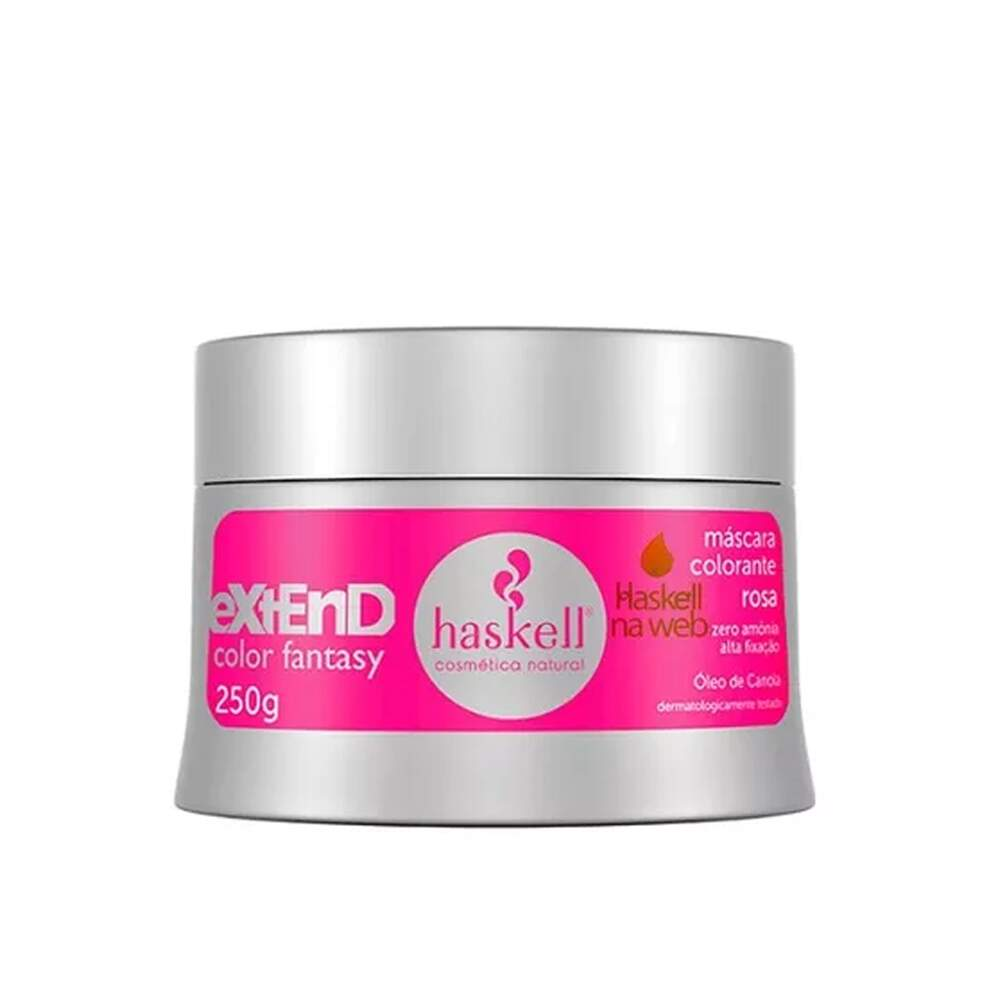 Máscara Extend Color Rosa 250g