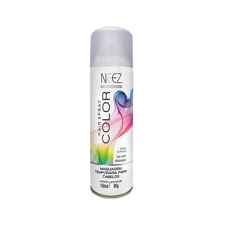 Hair Spray  Colors Neez Gliter Prata