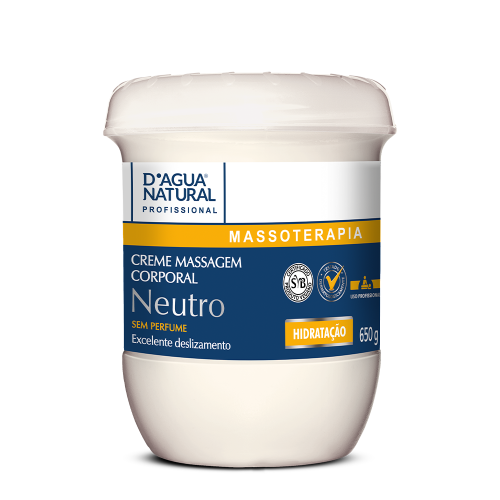 Creme Des. de Massagem Neutro