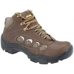 Botina Adventure Masculina - Couro Chocolate