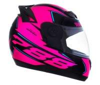 CAPACETE EVOLUTION G6 788 SPEED FUNDO PRETO - CORES