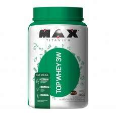 Top Whey 3W Mais Natural - 900g - Max Titanium