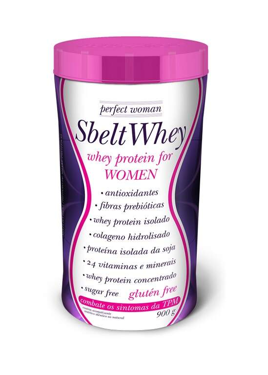 8919b4966 Sbelt Whey Perfect Woman - 900g - New Millen - MP Suplementos - A ...