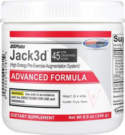 Jack3d Advanced Formula - 45 doses - USP Labs