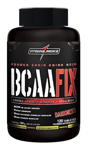 BCAA Fix (Darkness) - 120 tabs - Integral Médica