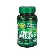 Ômega 3 Vegan (Vegetal) - 480mg - 60 caps - Unilife