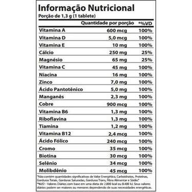 Complete Vitamin & Minerals - 100 tabs - Atlhetica