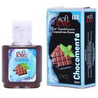 Gel Ice Comestível 30ml Soft Love - CHOCOMENTA