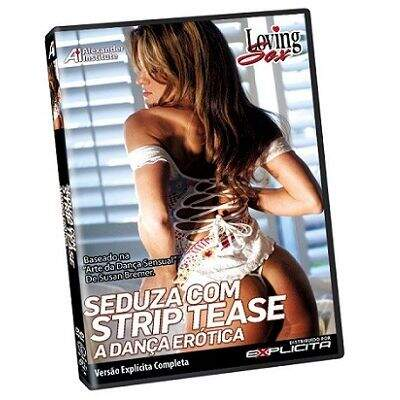 DVD - SEDUZA COM STRIP TEASE - LOVING SEX