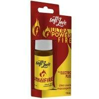 EXCITANTE UNISSEX ULTRA POWER FIRE ELETRIC JATOS 15ML SOFT LOVE