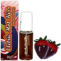 GLOSS ELETRIC HOT KISS MORANGO COM CHOCOLATE ROLL-ON