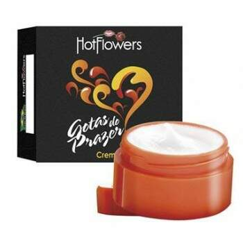 GOTAS DO PRAZER CREME HOT FLOWERS