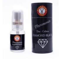 DIAMOND BLACK COLONIA MASCULINA 20ML PLEASURE LINE