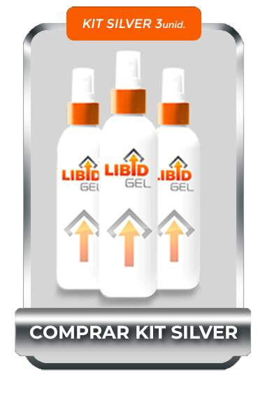KIT SILVER 3 UNIDADE - LIBID GEL 100% ORIGINAL KID BENGALA