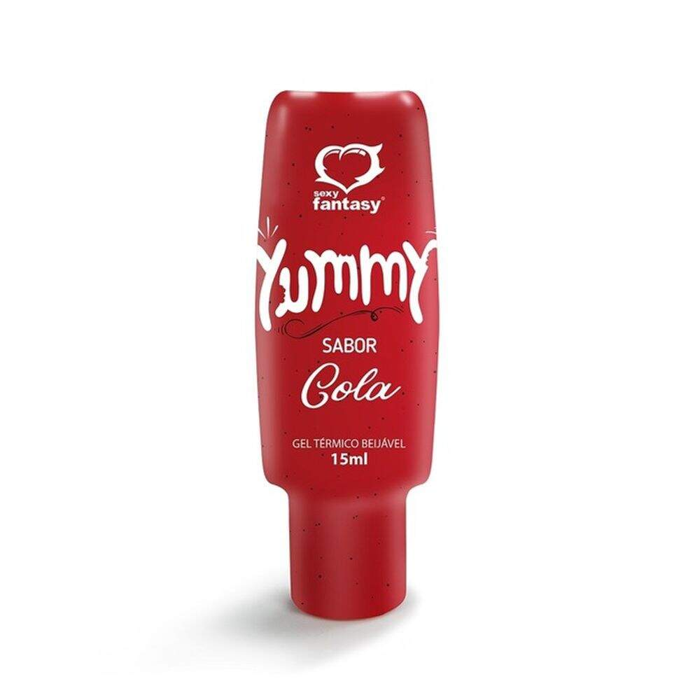 GEL TÉRMICO COMESTÍVEL YUMMY 15ML SEXY FANTASY - COLA