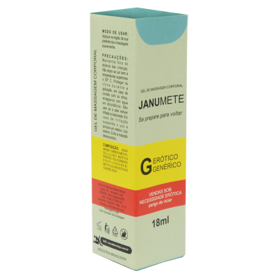 JANUMETE PROVOCA EREÇÃO 18ML SECRET LOVE