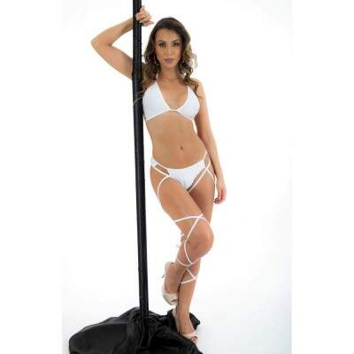 MINI FANTASIA POLE DANCE PIMENTA SEXY - BRANCO