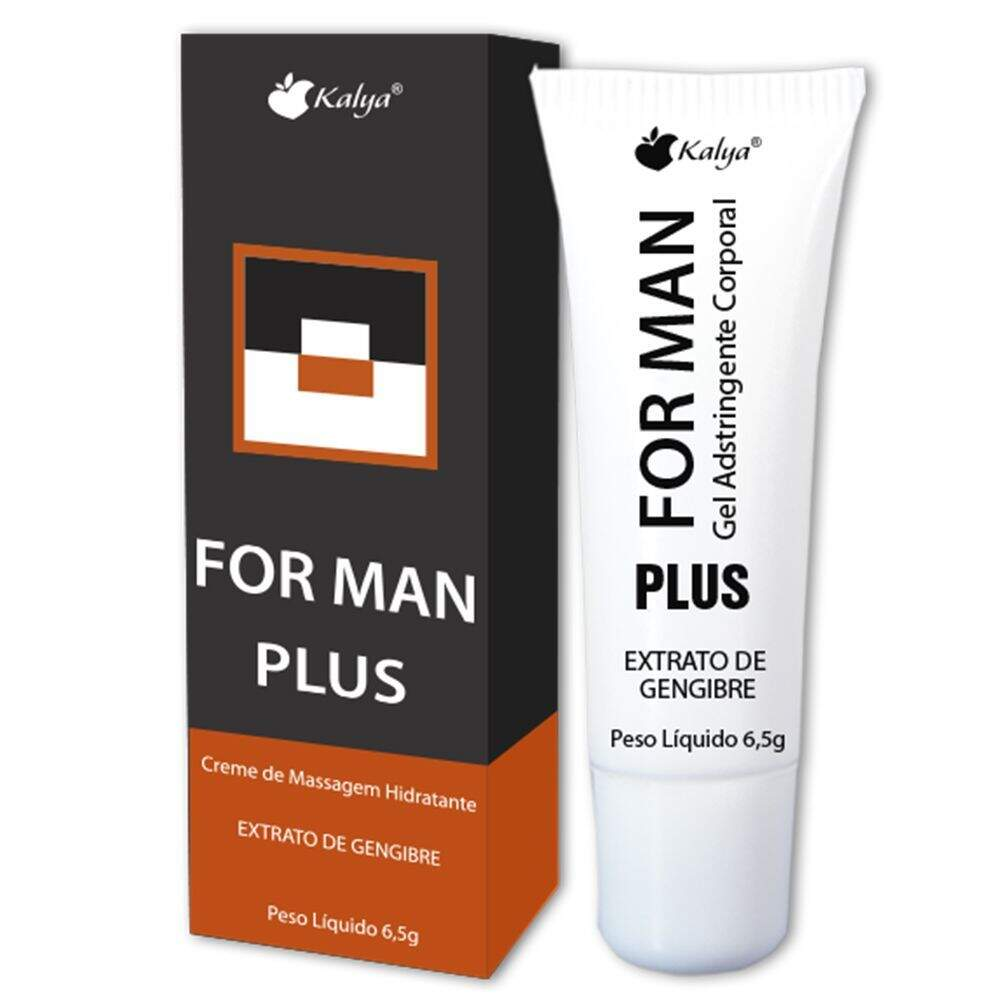 KIT 10 UNID. PROLONGADOR MASCULINO FOR MAN PLUS 6,5G KALYA