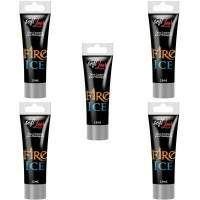 KIT 5 UNID. EXCITANTE FIRE & ICE BISNAGA 15ML SOFT LOVE