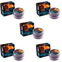 KIT 5 UN EXCITANTE FIRE & ICE LUBY ESQUENTA e ESFRIA 4GR SOFT LOVE
