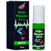 GEL DO BEIJO VIBRANTE EM ROLLON 10ML CHILLIES - MENTA